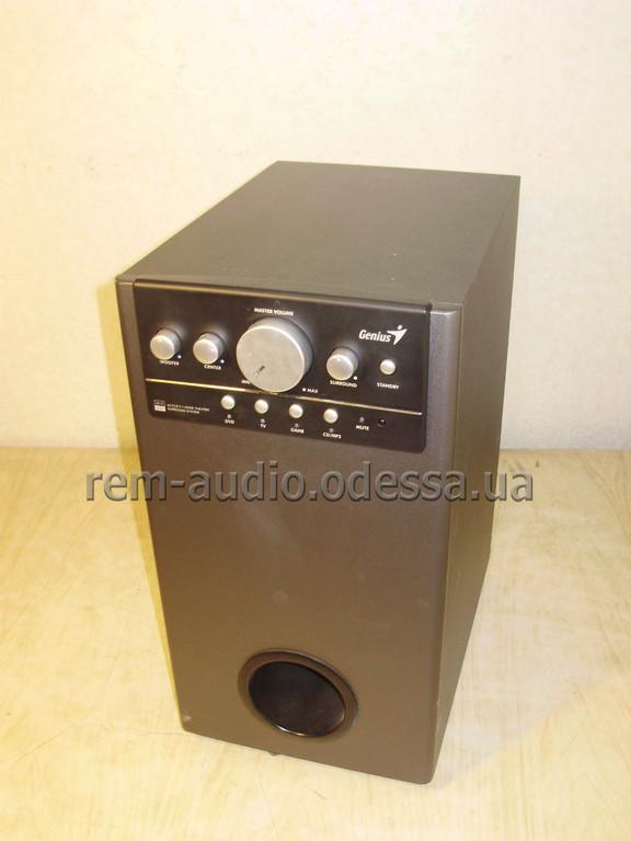 Ремонт сабвуфера Genius SW-HF5.1 5005
