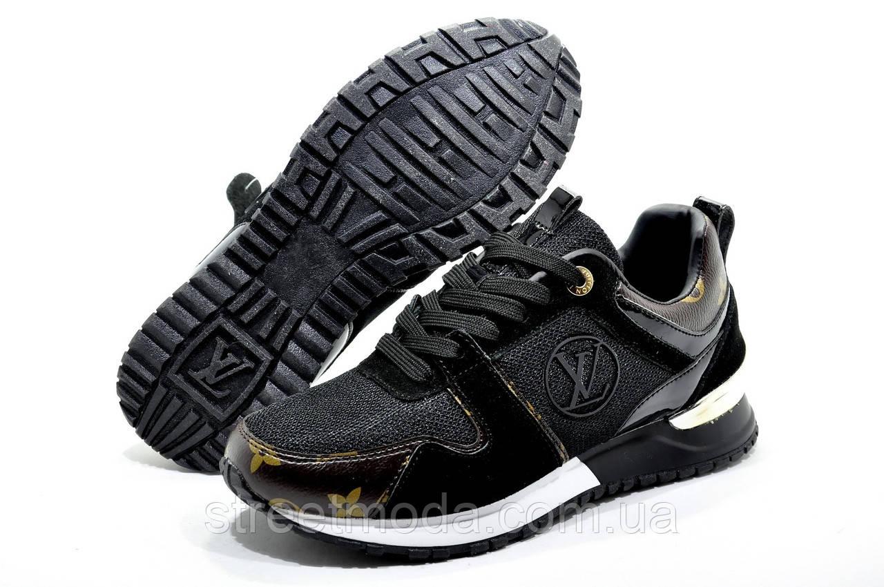 06f8ee2630ee Женские кроссовки в стиле Louis Vuitton RUN AWAY, Черные: продажа ...