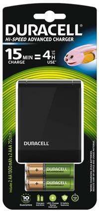 Зарядное устройство Duracell CEF27+ 2AA1300 + 2AAА750