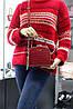 Модный жесткий клатч David Jones 5115 red, фото 4