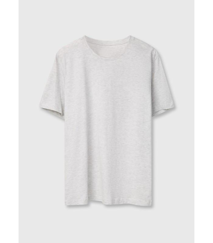 Мужская футболка молодежная светло серая 13-94