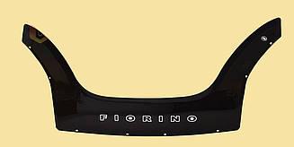 Мухобойка Fiat Fiorino (2008>) (VT-52) Дефлектор капота накладка