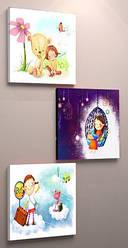 Модульная картина 60х90, для детской, холст
