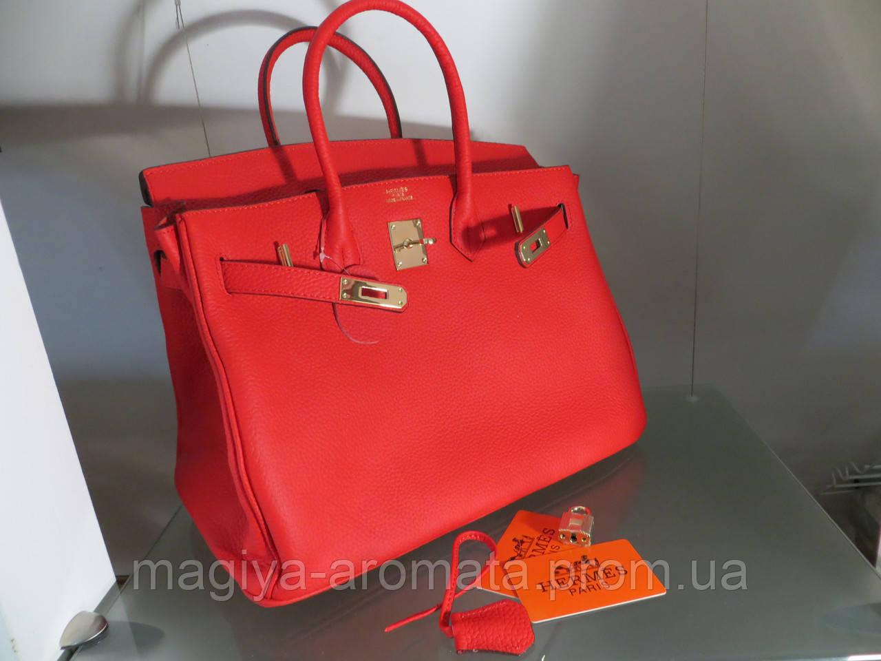 88d5c4542978 Женская сумка Hermes 35 СМ Красная - Магия Аромата - Парфюмерия, Брендовые  Сумки - Кошельки
