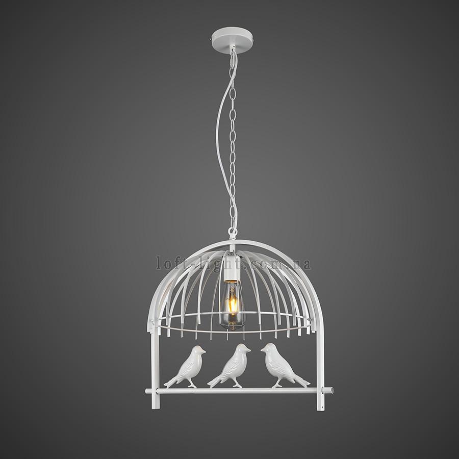 """Люстра в стиле лофт """"Птички"""" (модель 61-NZ01-1WH)"""