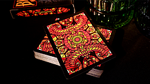 Карты игральные | Bicycle Stained Glass Phoenix Playing Cards, фото 2