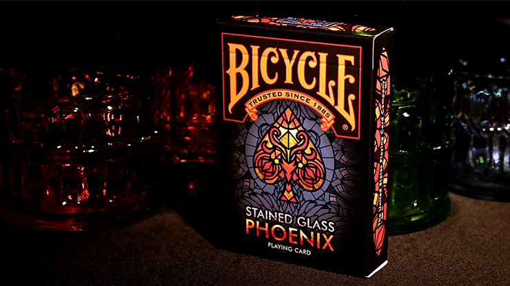 Карты игральные | Bicycle Stained Glass Phoenix Playing Cards