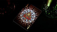 Карты игральные | Bicycle Stained Glass Phoenix Playing Cards, фото 3