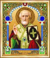 Набор для вышивания бисером «Икона святителя Николая Чудотворца»
