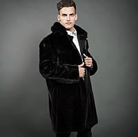 Пальто мужское дабл фейс из  норки, фото 1