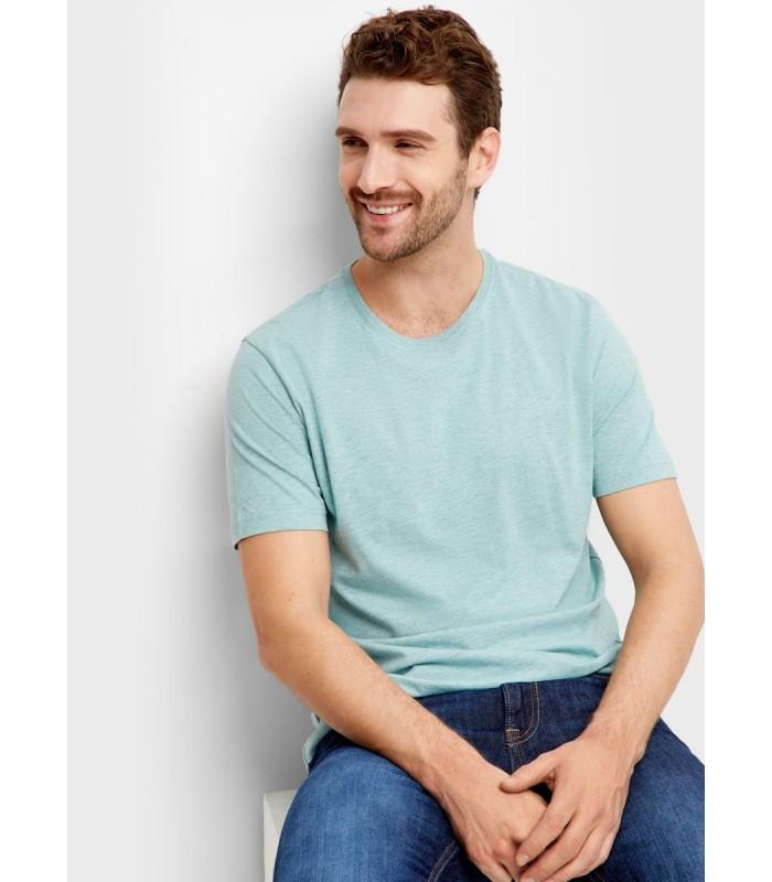 Мужская футболка молодежная голубая 13-УТ