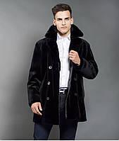 Пальто из натурального меха мужское