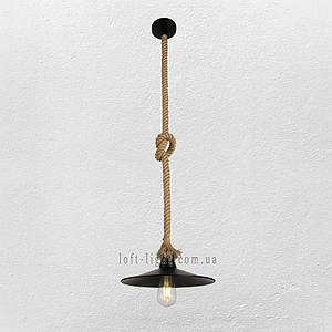 Люстра ( подвес) в стиле лофт (модель 52-33 BK )