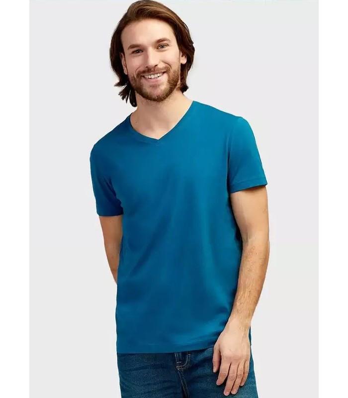 Мужская футболка молодежная бирюзовая 14-ЗУ