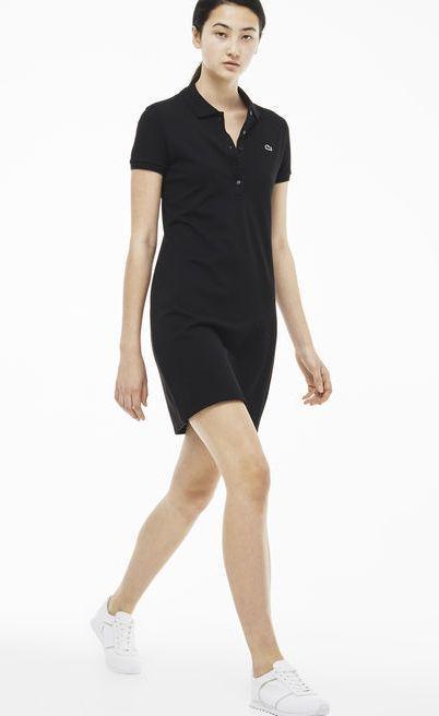 Lacoste 100% хлопок женское платье 5 пуговиц РАЗНЫЕ цвета лакоста