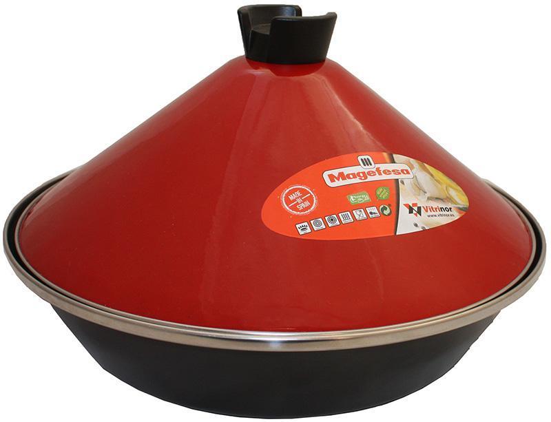 Таджин Vitrinor эмалированный Ø26см с индукционным дном