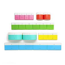 Азбука. Магнитный конструктор (20 блоков)(Kid O 10454), фото 2
