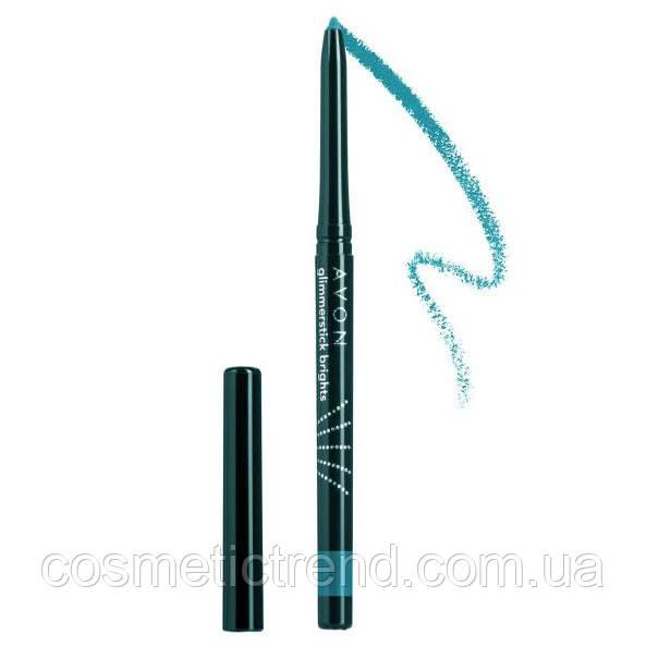 Avon cosmetics True color eyeliner Олівець механічний для очей Turquoise Burst (бірюзовий)