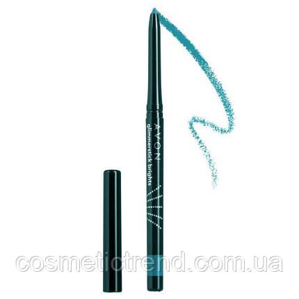 Avon cosmetics True color eyeliner Олівець механічний для очей Turquoise Burst (бірюзовий), фото 2