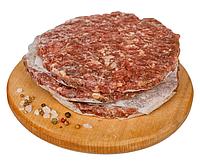 Котлета для бургера говяжья 9см 60гр(шт)