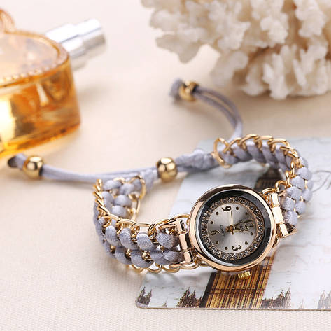 """Жіночі наручні годинники """"Sloggi"""" (сірий ремінець), фото 2"""