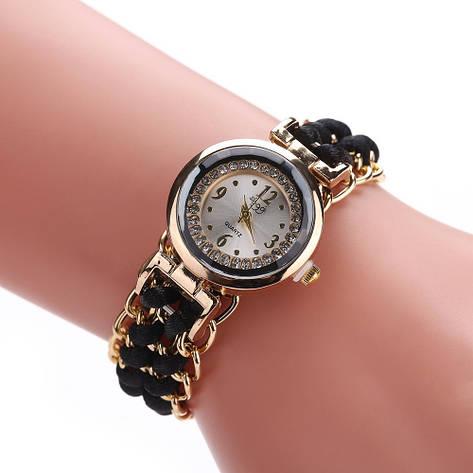 """Женские наручные часы """"Sloggi"""" (черный ремешок), фото 2"""