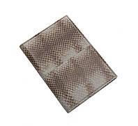 Обложка для паспорта  Ekzotic Leather Серая (snp01), фото 1