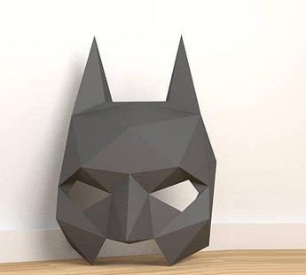 Papercraft Маска Бэтмена