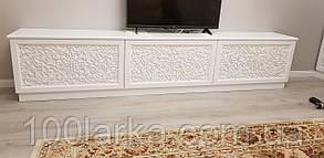 Тумба, комод під телевізор з різьбленим візерунком