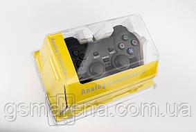 Джойстик геймпад игровой для PlayStation 2 PS2 виброотдача, аналоги