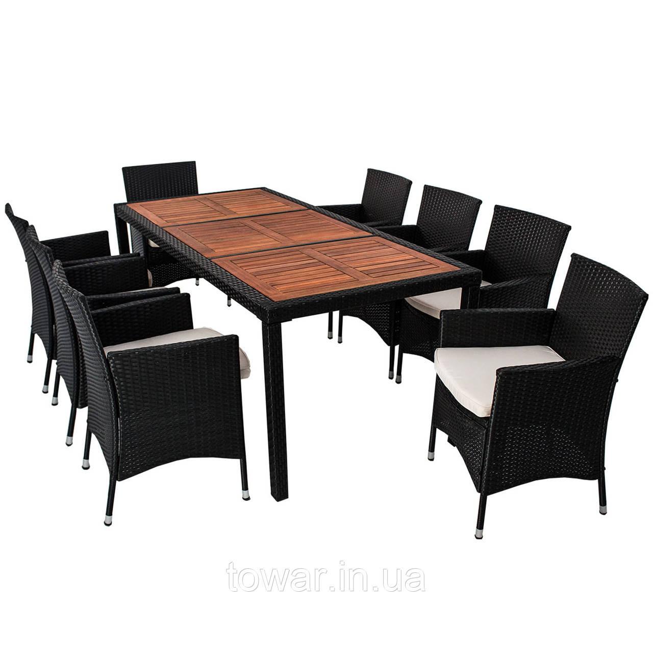 Комплект мебели VENA 8 + 1 техноротанг