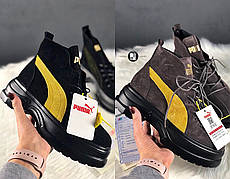 Женские ботинки в стиле Puma Spring Boots 2 цвета в наличии