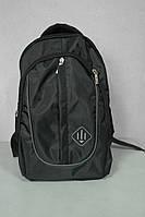 Рюкзак черный из плотной ткани, объем 15 литров