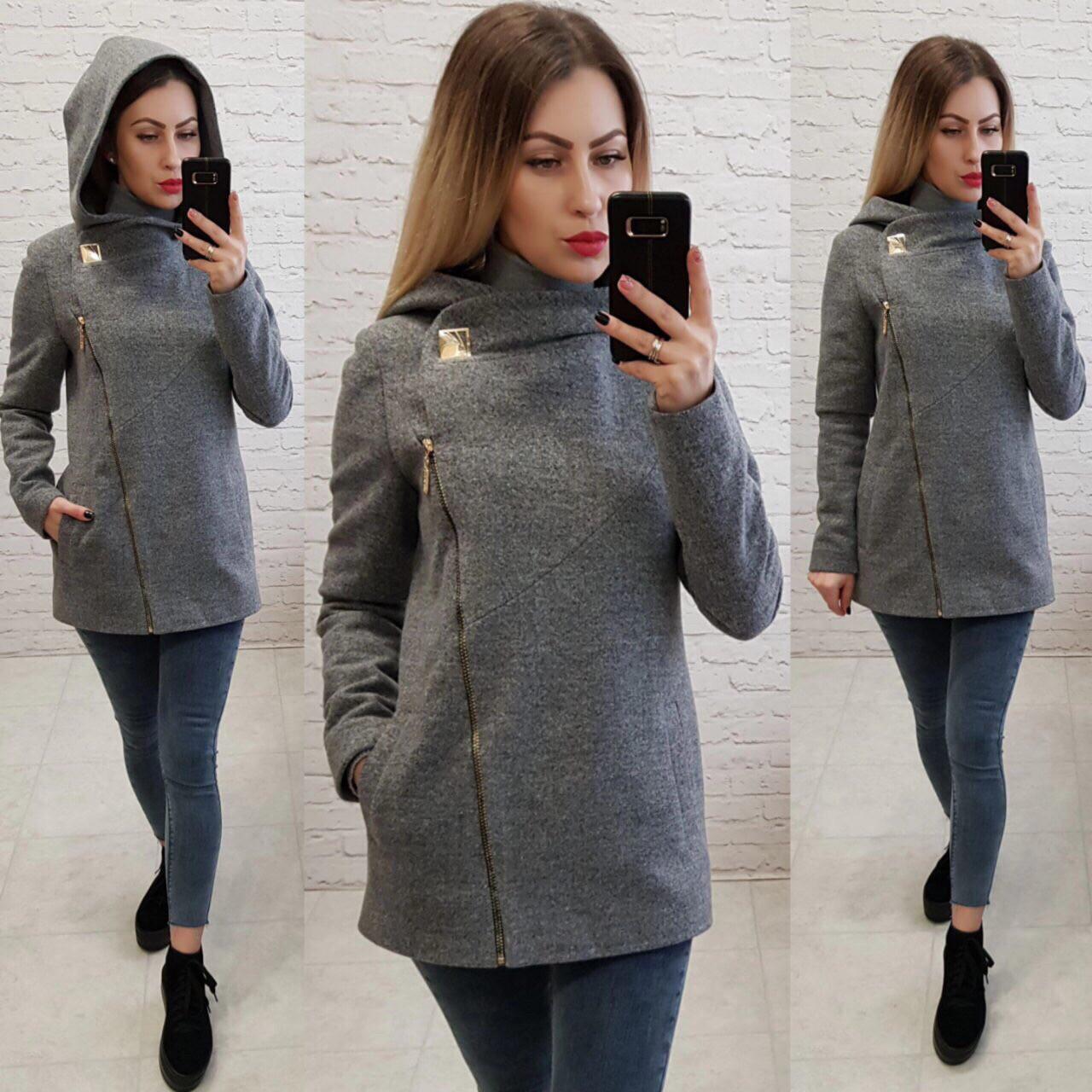 Стильное женское кашемировое пальто