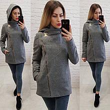 Стильне жіноче кашемірове пальто