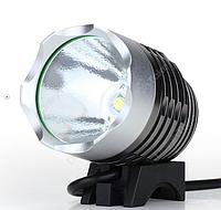 Водонепроницаемый фонарь XML-T6 1200-Lumen, 3 режима, с насадкой которая крепится на руль