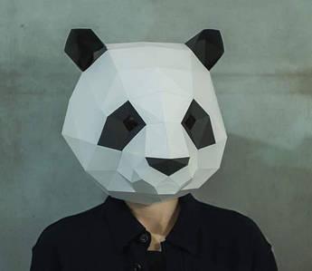 Papercraft Маска панды