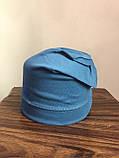 Детская трикотажная шапка с принтом для мальчика, фото 2