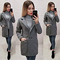 Стильное женское весеннее кашемировое пальто , фото 1