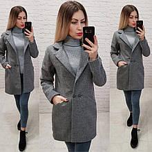 Стильное женское весеннее кашемировое пальто