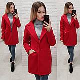 Стильне жіноче кашемірове пальто весняне, фото 5