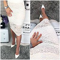 Женская гипюровая юбка