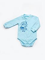 Боди для новорожденного мальчика утеплённый