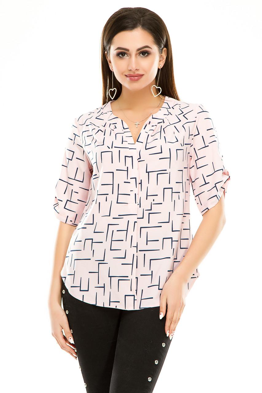 Блузка 286 розовая