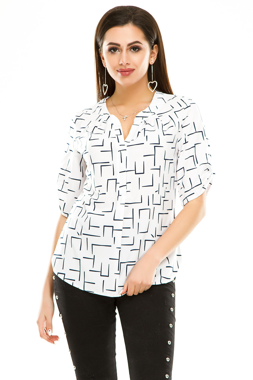 Блузка 286 белая