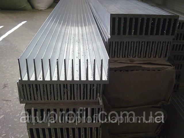 Радиаторный алюминиевый профиль — радиатор алюминиевый 122х38 Б/П