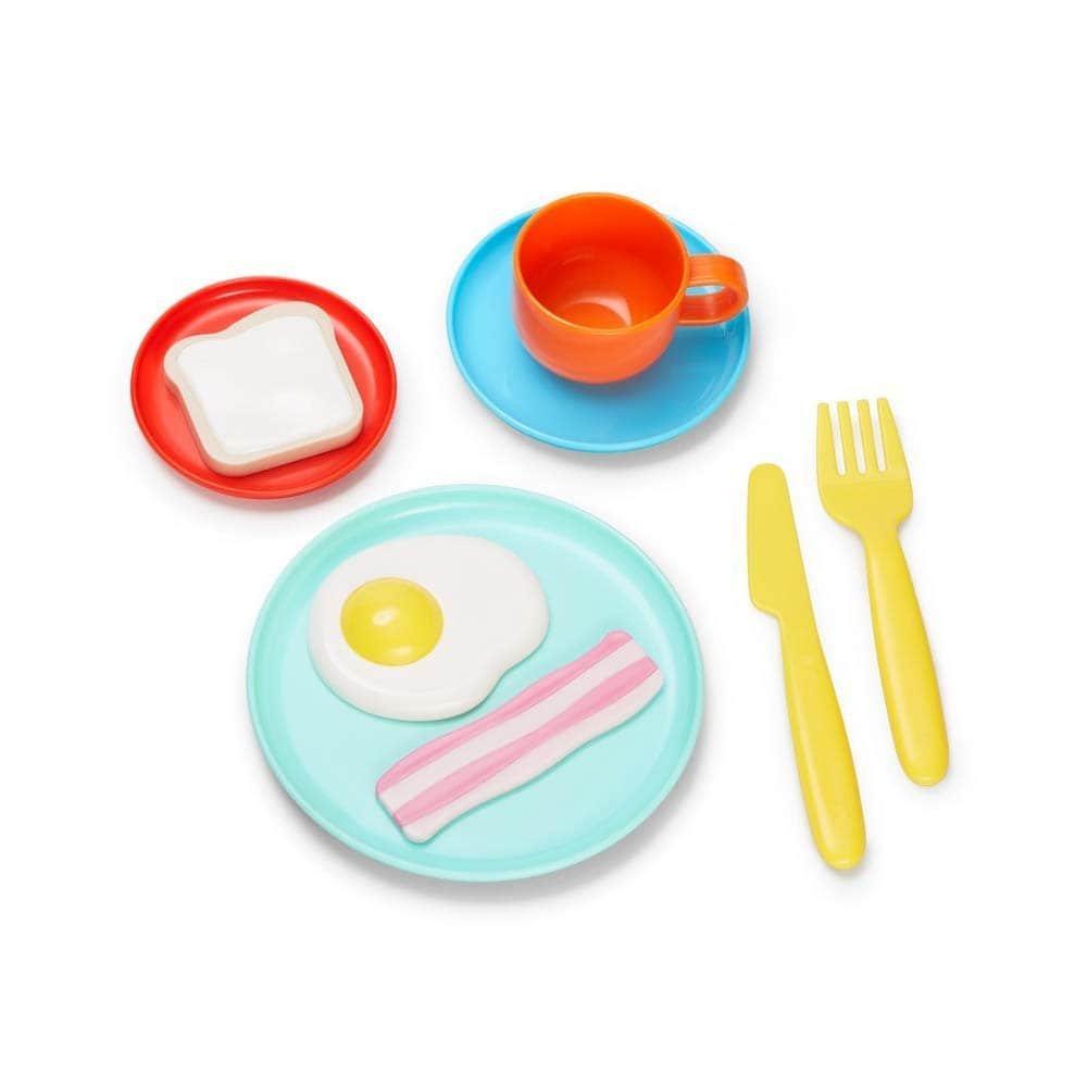 Игровой набор посуды Завтрак. Kid O.  (9 предметов)