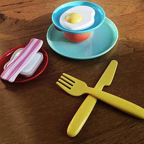 Игровой набор посуды Завтрак. Kid O.  (9 предметов), фото 2