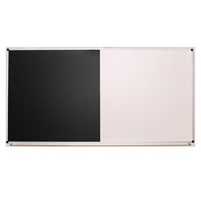 Доска одноповерхностная комбинированная черно-белая