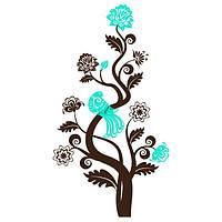 Виниловая наклейка на стену Сказочное дерево